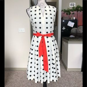 🧡 Retro Polka Dotted Dress 🧡